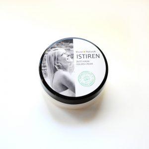 Idunn Naturals naturalne masło do ciała Istiren z 24k złotem na wagę