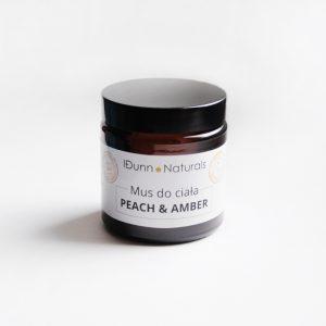 Mus do twarzy i ciała peach & amber 120 ml Idunn Naturals
